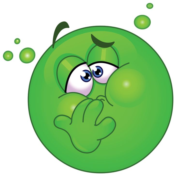 Nausea smiley for Facebook. Copy the chat code from: ▶  http://www.symbols-n-emoticons.com/2013/01/nausea-smiley.html