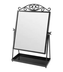İkea Karmsund Siyah Masa Aynası - 27x43 cm