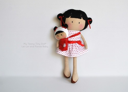 My Teeny-Tiny Doll® Lei-Lei and Panda Baby