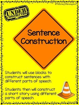 During this activity students will be construction workers by building good strong sentences and eventually a short story. This is a great parts of speech review that will get your students excited. To make it even more engaging transform your room into a construction zone.