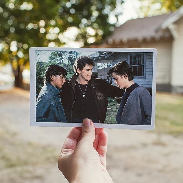 Woah! This is cool!. Didn't know this existed. Fave book!!! #theoutsiders #theartsiders #theartsyoutsiders #theoutsidersartsy