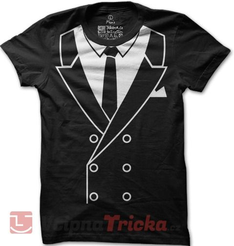 Pánské tričko Suit Up! | VtipnaTricka.cz