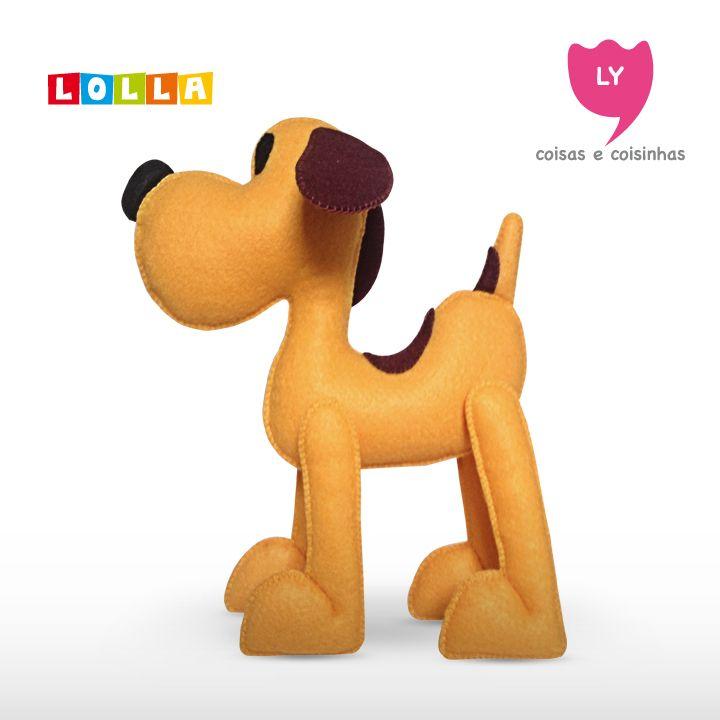 Lolla A cachorrinho de estimação de Pocoyo, é sua companhia. #pocoyo #kids #party #dog #cute #lycoisasecoisinhas