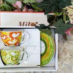 Buy now € 31.90 in #offerts  set 6 #tazzine  #caffe'  #Milk & #Coffee #CuoreMatto in fine #Porcellana decorata con #cuori e # scritteby  #madeinitaly    #TognanaPorcellane  http://www.tiffanystore.it/?product=set-6-tazzine-caffe-con-piattino-in-porcellana-milk-coffe-cuore-matto-multicolor-progetto-tognana