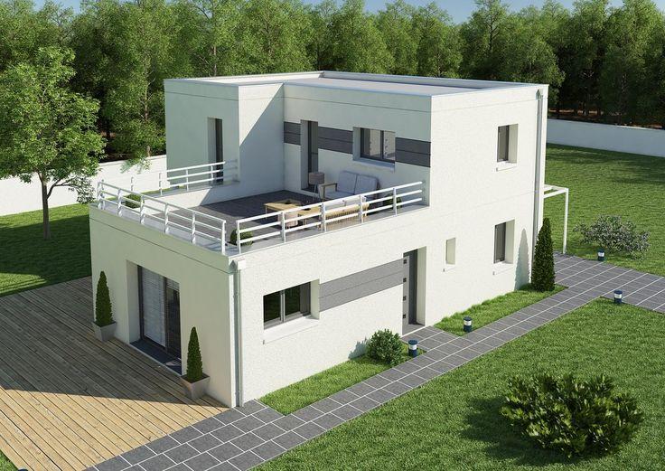 1000 id es sur le th me toiture terrasse sur pinterest toiture terrasse boi - Photo terrasse maison ...