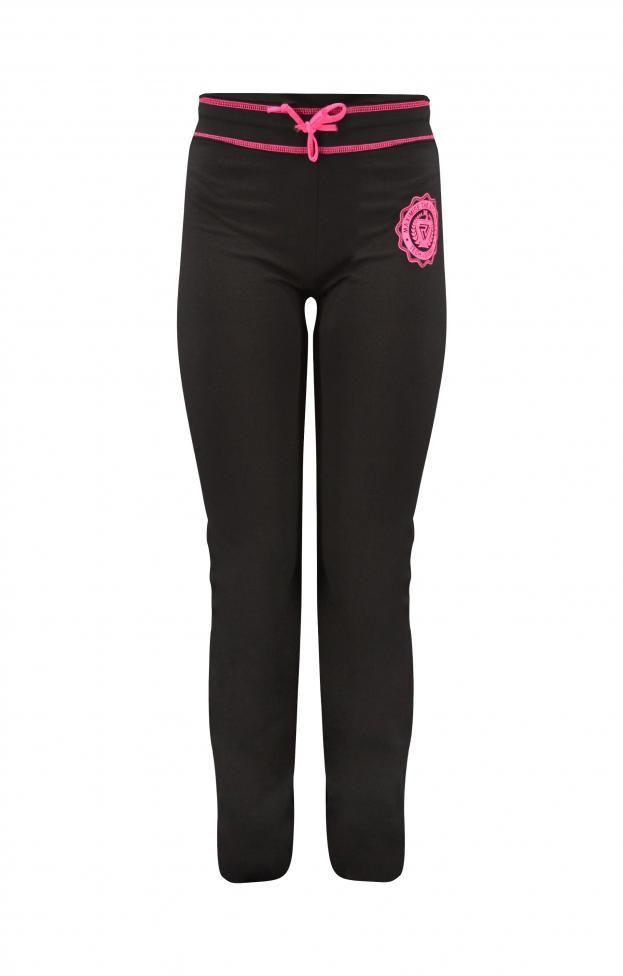 Γυναικείο παντελόνι φόρμας με εξώραφα | Φόρμες - Sport & Αθλητικά Μαύρο