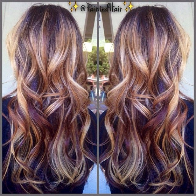 20 Beautiful Winter Hair Color: Pin By Caleigh Drinkard On Hair