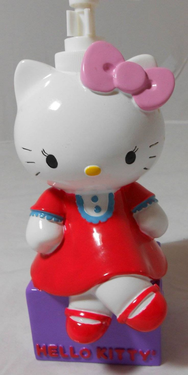 HELLO KITTY Pump Lotion Dispenser NEW/TAGS Colorful Pictures Gallery