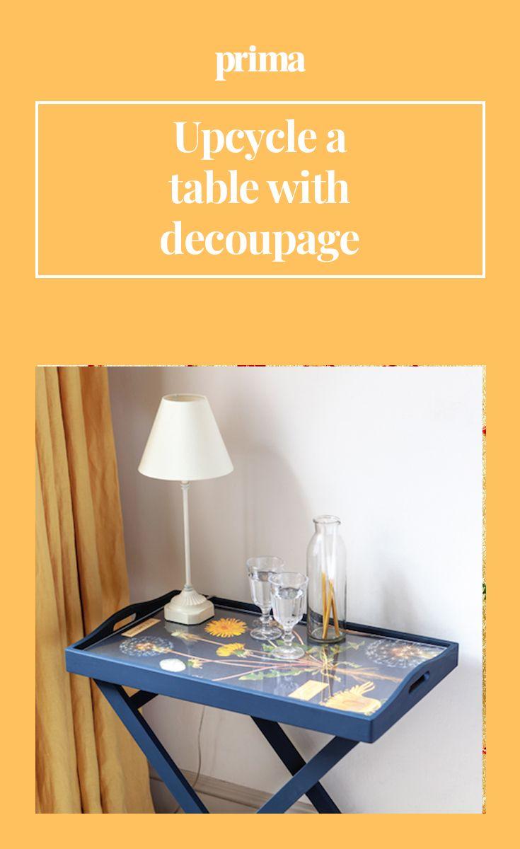 How To Decoupage A Table Decoupage Table Clear Acrylic Sheet Decoupage