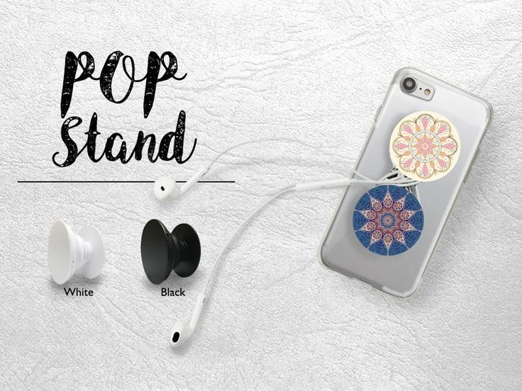 Aztec Mandala Pop Stand | Pop Stand for phone with car mount car holder | Phone Grip | Expanding Phone Stand Grippers | Earphone holder