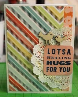 lotsa healing hugs for you by rosaliejb at Studio Calico