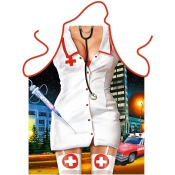 Funny Apron - Nurse
