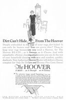 Hoover Electric Carpet Cleaners 1925 Ad Picture