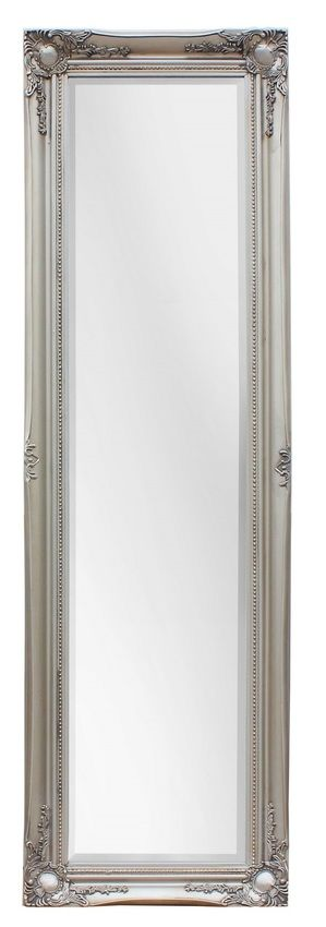 Maissance Traditional Antique Silver Full Length Mirror