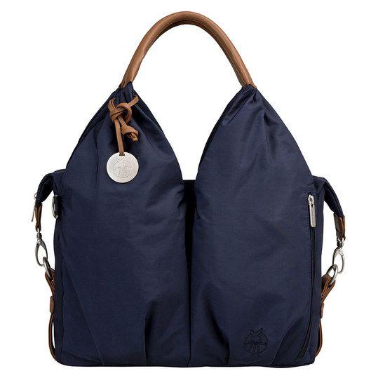 Geräumige #Wickeltasche mit schicken Details.Lässig Wickeltasche Glam Signature Bag - Navy