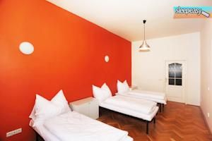 One of our 10 cozy rooms . #hostelprague #room #prague #czechrepublic #travel