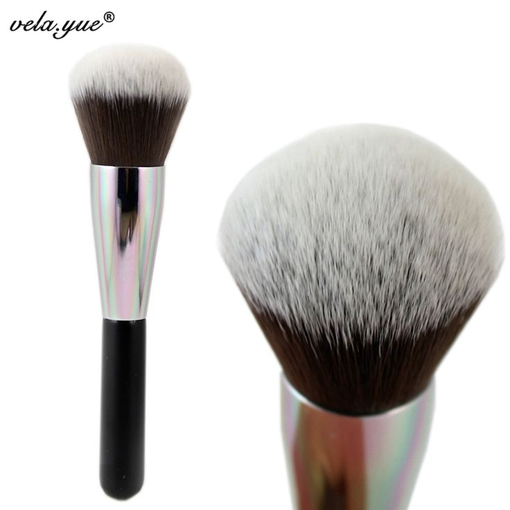 Professional Makeup Brush Full Coverage Face Brush For All Powder Products Clear Stock