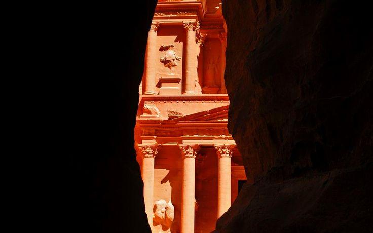 Siq Petra Jordan Wallpaper