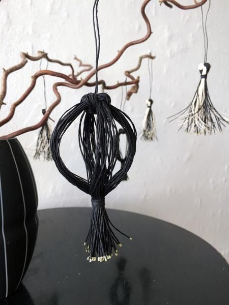 Noa Globe Ornament Black | Ditte Maigaard Studio