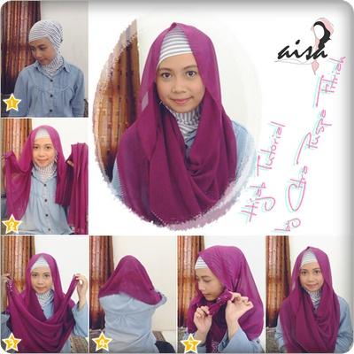 Fatimah Rommy Hijab Style