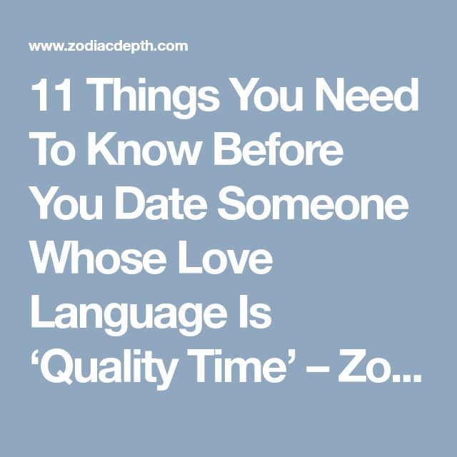 11 Things You Need To Know Before You Date Someone Whose Love Language Is 'Quality Time' – Zodiac Depth #Zodiac #Zodiacsex #Zodiacsigns #Aries #Taurus #Gemini #Cancer #Leo #Virgo #Libra #Scorpio #Sagittarius #Capricorn #Aquarius #Pisces #zodiacsymbols #Zodiacales #Astrology #Zodiacastology