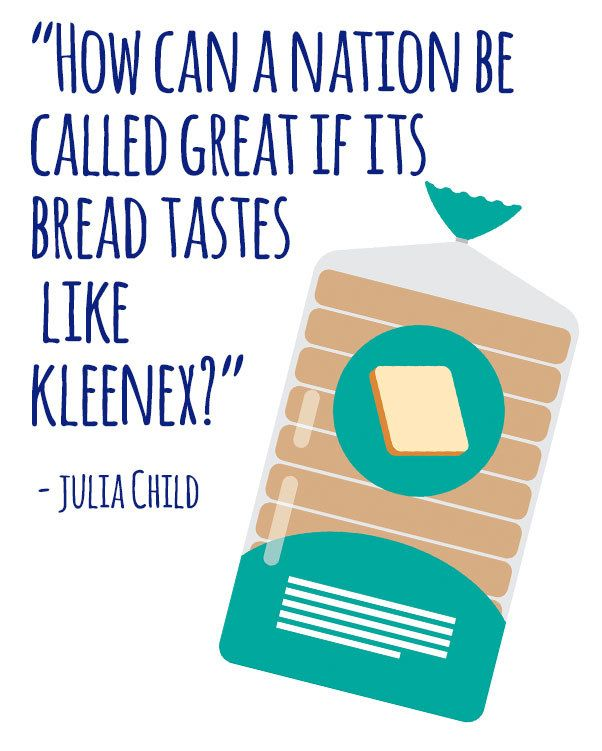 On Wonder Bread: | 16 Perfect Julia Child Quotes That Will Give You All The Feels