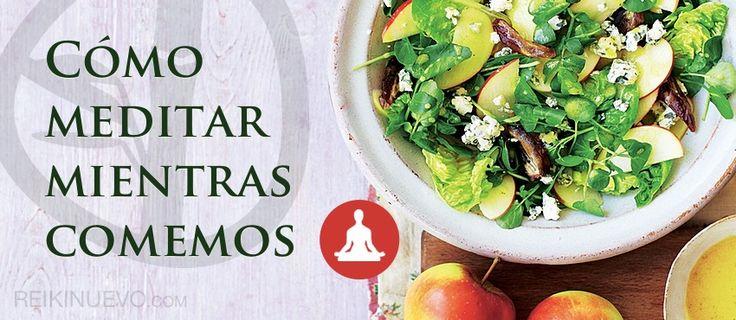 Cómo meditar mientras comemos http://reikinuevo.com/como-meditar-mientras-comemos/