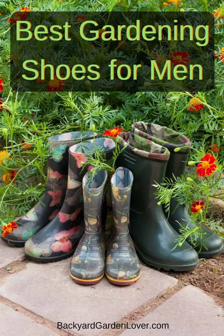 If you spend any time in the garden, you need garden shoes. Here's a list of the best gardening shoes for men.