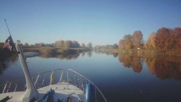 Bootsurlaub Polen Weichseldelta #bootsferien #bootsurlaub #hausbootferien #bootscharter #polen