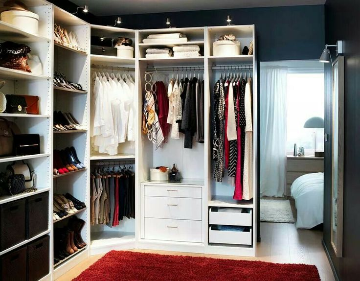 13 best images about home walk in closet on pinterest for Best walk in wardrobes