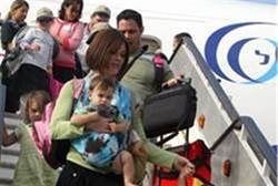 """Hundreds of descendants of Peruvian Jews are planning to make aliyah (immigrate) to Israel, the Jewish Agency reports, They have been dubbed the """"Amazon Jews""""-- Aliyah flight (Flash 90)"""