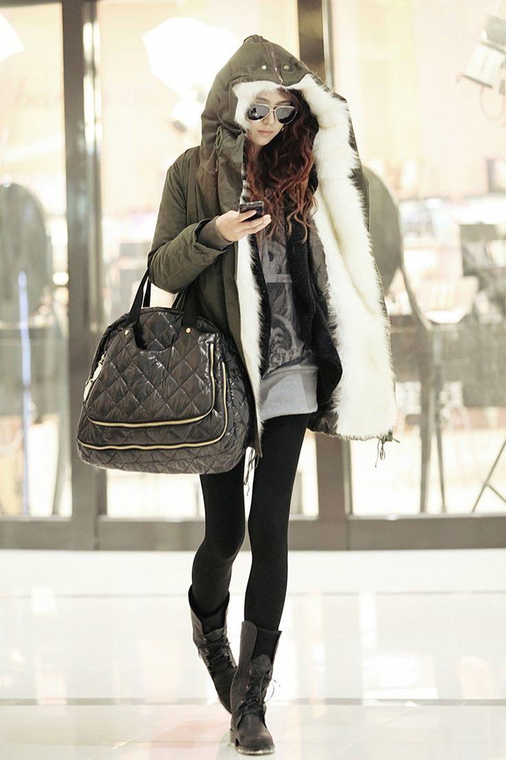 boots and leggings | My Kinda Style | Fashion, Korean ...