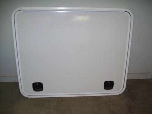 New Rv Trailer Camper Toy Hauler Compartment Hatch Cargo