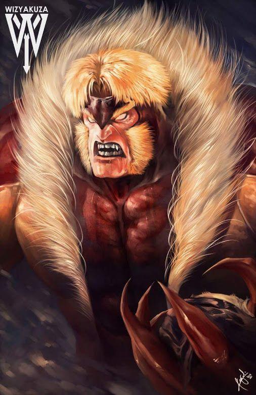 Sabretooth by Ceasar Ian Muyuela | ARTISTAS | Sabretooth ...