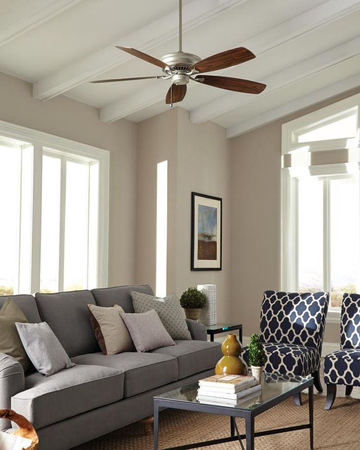 The Bonneville Max Collection: Monte Carlou0027s Bonneville Max Ceiling Fan  Provides Maximum Airflow With 6,837