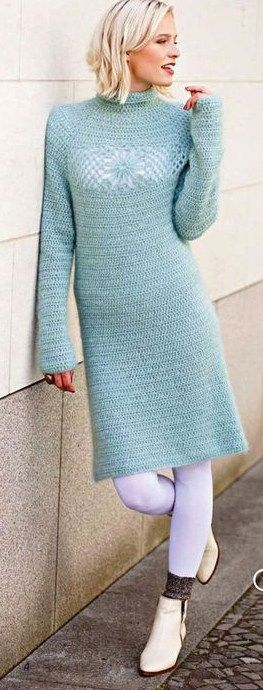 CROCHET DRESS. FREE PATTERN.
