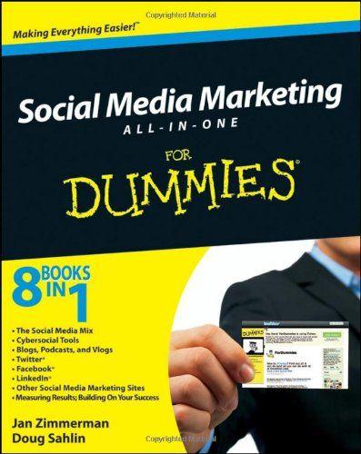 Social Media Marketing All-in-One For Dummies - Social Media Books