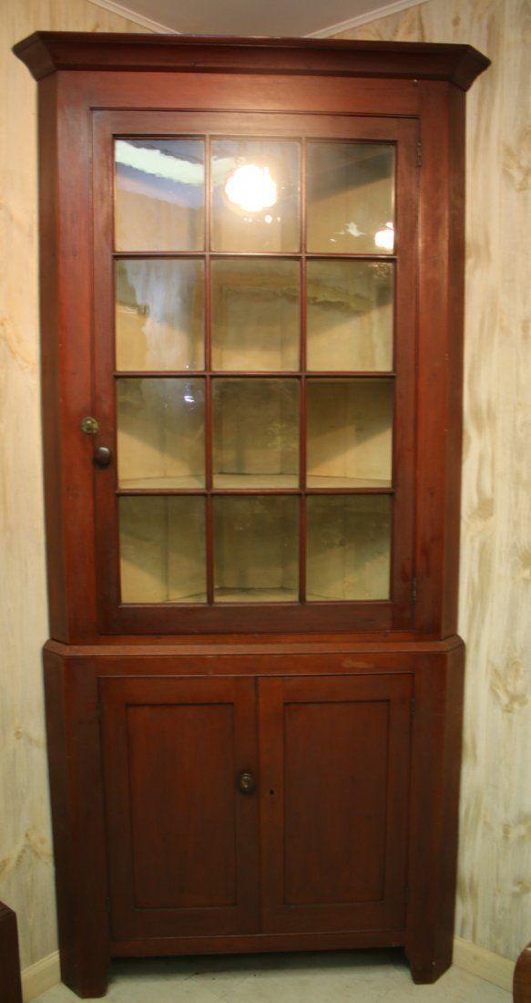 Antique Cherry Corner Cabinet | Antique Furniture