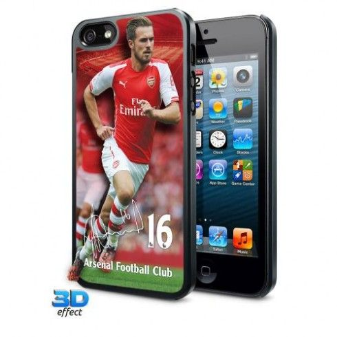 Arsenal F.C. iPhone 5 / 5S / 5SE Hard Case 3D Ramsey