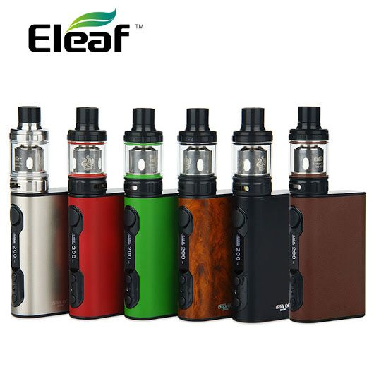 TODAY'S DEAL: Eleaf iStick QC 200W with Melo 300 Tank - The iStick QC 200W combines huge power for cloud chasing in a sleek, stylish design. 21% discount. – Urban Vape Store