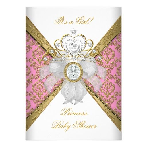 266 best images about girl baby shower invitations on pinterest, Baby shower invitations