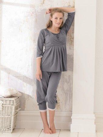 Pyjama de grossesse et d'allaitement Ewen