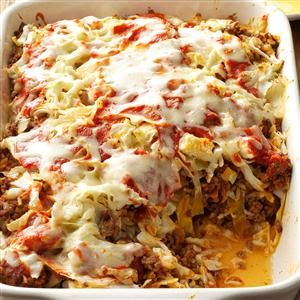 Cabbage Roll Casserole Recipe from Taste of Home -- shared by Doreen Martin of Kitimat, British Columbia