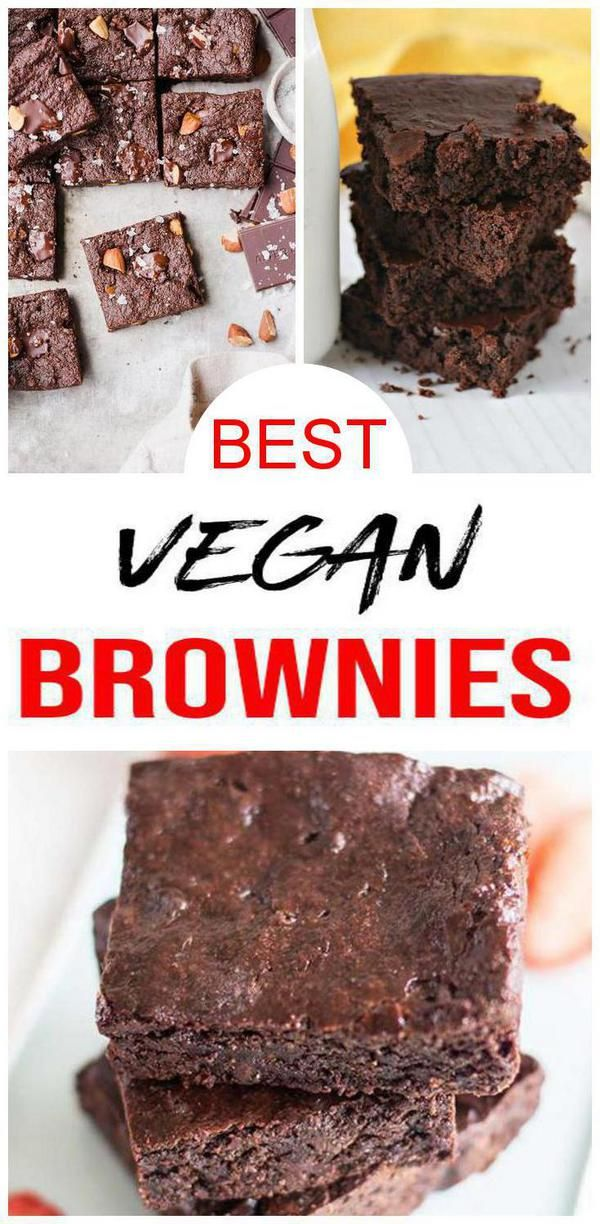 10 Vegan Brownies You Do Not Want To Miss Easy And Delicious Vegan Chocolate Brownie Ideas Pe Vegan Brownie Brownies Recipe Easy Chocolate Brownie Recipe Easy