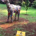 My Deer, (used soda cans) - Jakarta-Indonesia