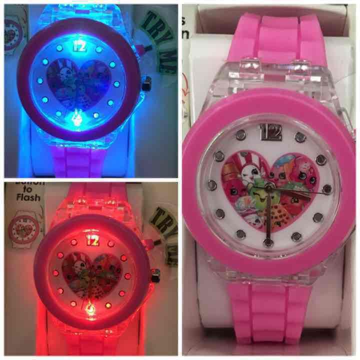 shopkins heart light up watch mercari anyone can buy sell cosas mia pinterest. Black Bedroom Furniture Sets. Home Design Ideas