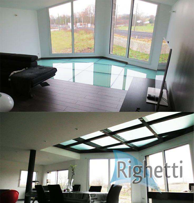 17 best images about plancher en verre glass floor on pinterest home laminated glass and. Black Bedroom Furniture Sets. Home Design Ideas
