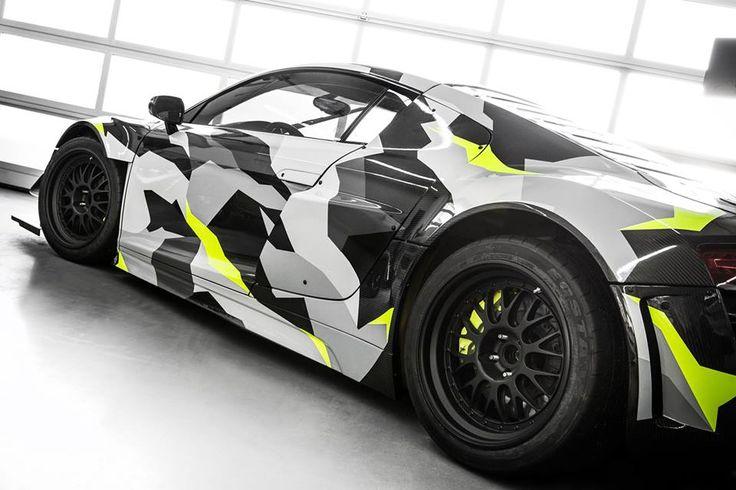 Audi R8 GT3 LMS Recon MC8 Gets an Urban Camo Wrap – automotive99.com