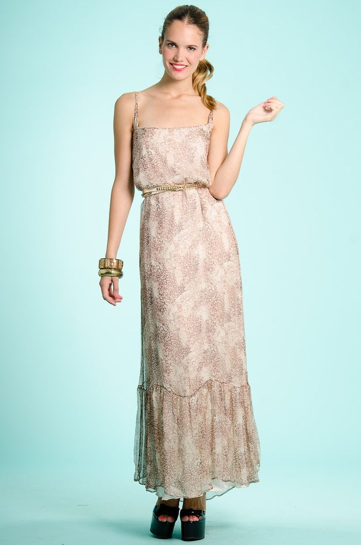 Vestido Largo Gardenia,  DeluxeBuys.com