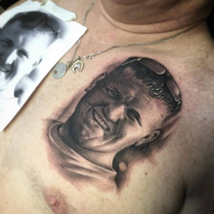 #awesome #amazing #quality #realistic #portrait #chest #tribute #remember #love